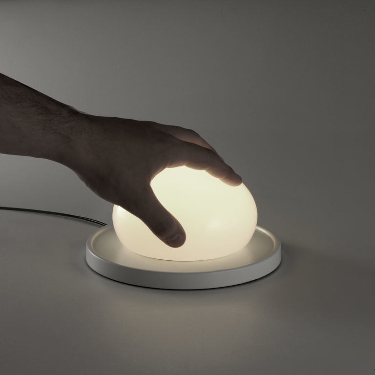 Touch-Controlled Globe Lamps