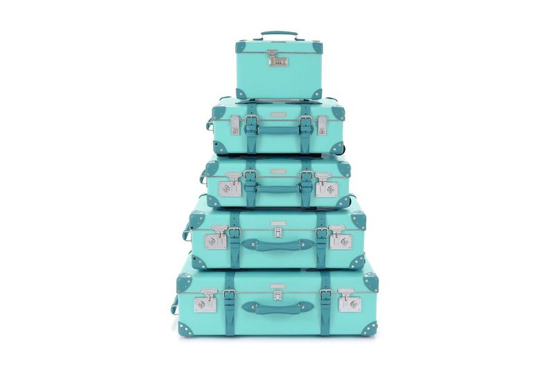 Iconic Blue Luggage Collections