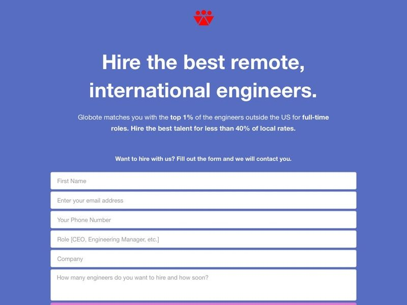 Remote Engineer Hiring Platforms