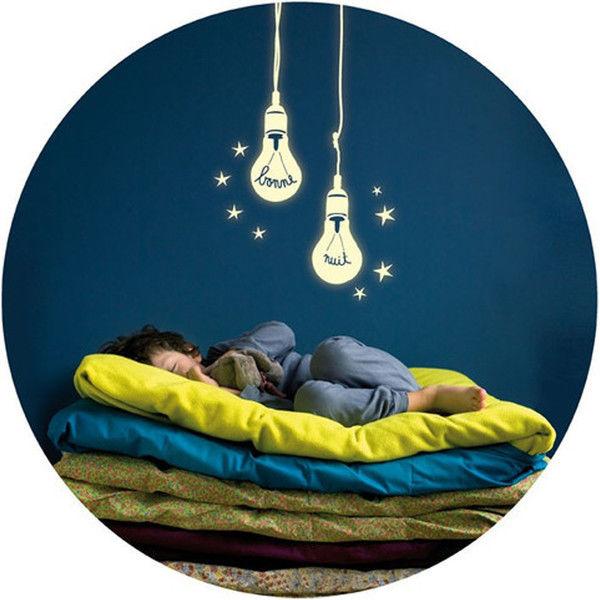 Light-Up Bulb Decals