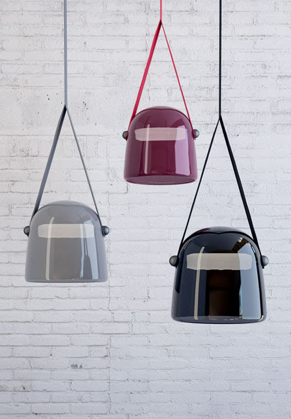 Suspended Gloss-Finished Lamps