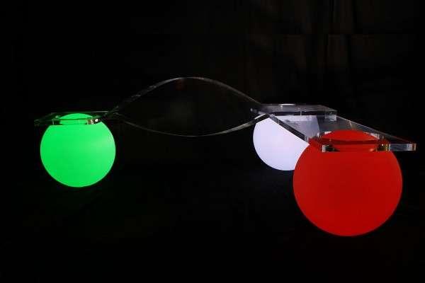Luminous Sphere Seating