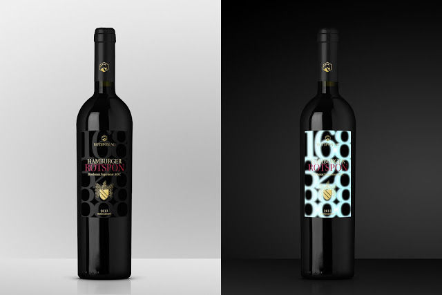 Fluorescent Wine Labels