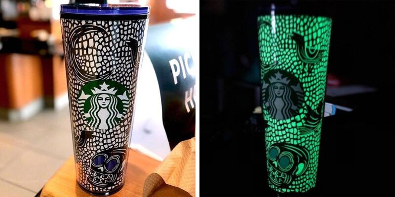Spooky Glowing Coffee Carriers