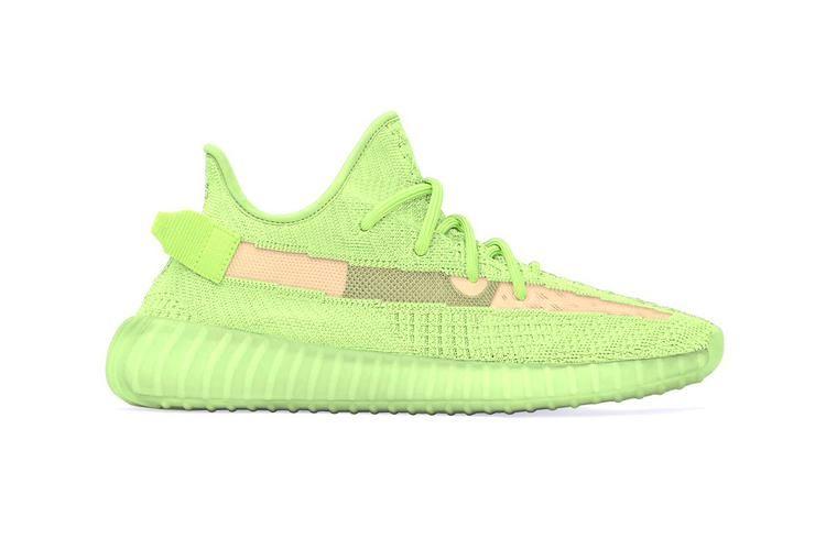 huge selection of d6ee4 78eb0 Glow-in-the-Dark Designer Shoes : Glow-in-the-dark YEEZYs