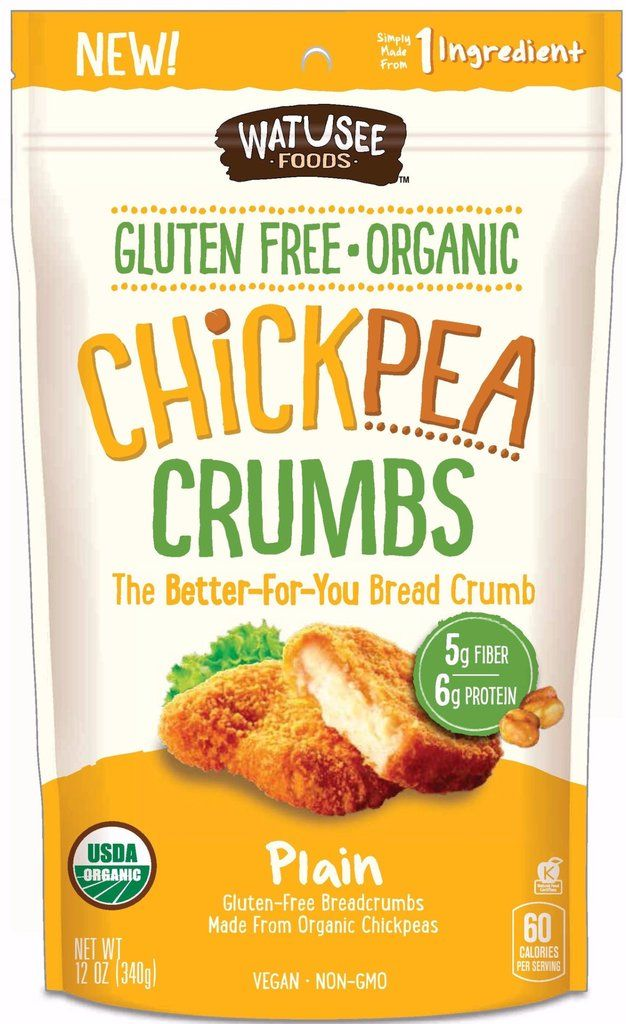 Protein-Rich Chickpea Crumbs