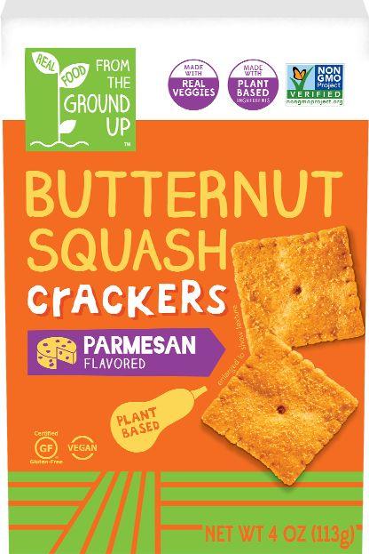 Squash-Based Crackers