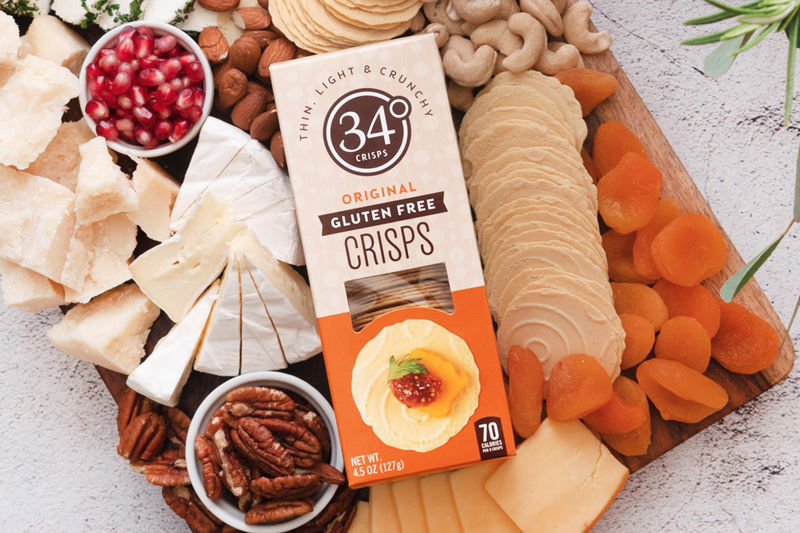 Chickpea-Based Crackers