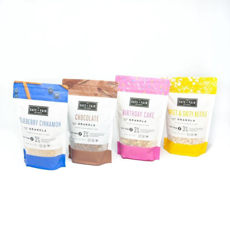 Allergy-Friendly Granolas