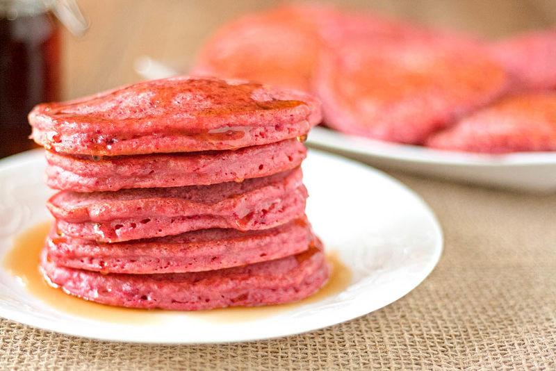Gluten-Free Beet Pancakes
