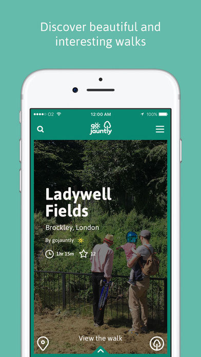 Crowdsourced Walking Routes