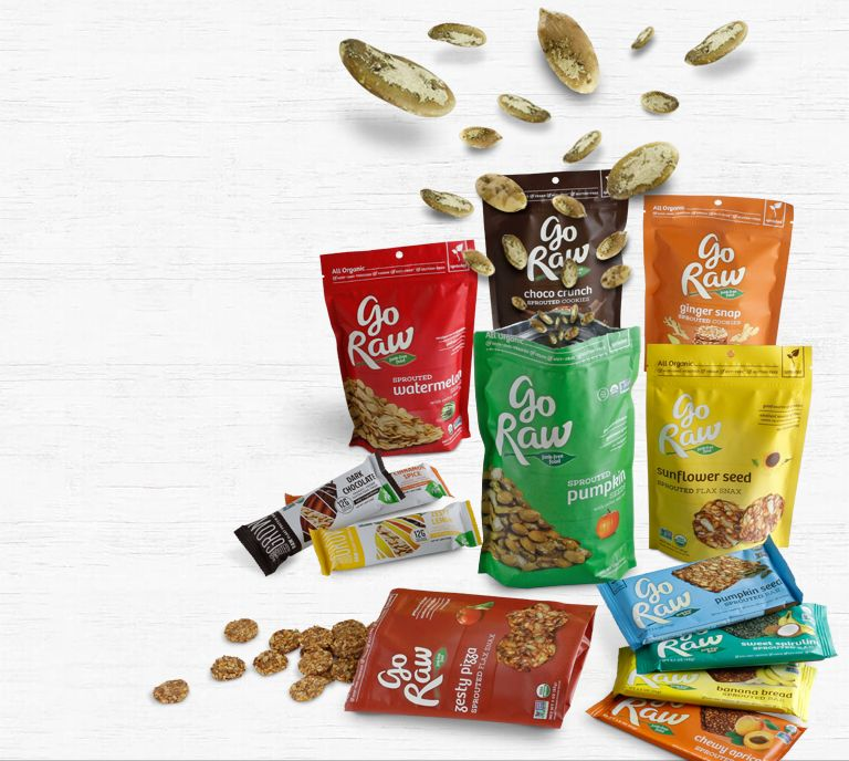 Sprouted Superseed Snacks