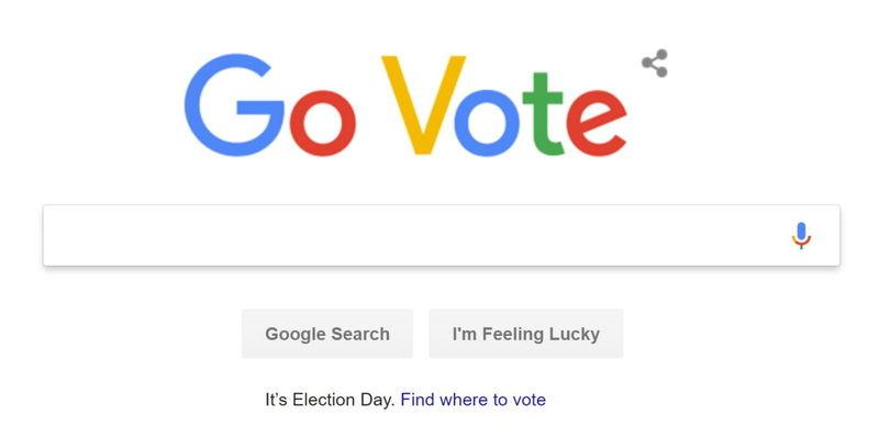Voting-Focused Internet Doodles