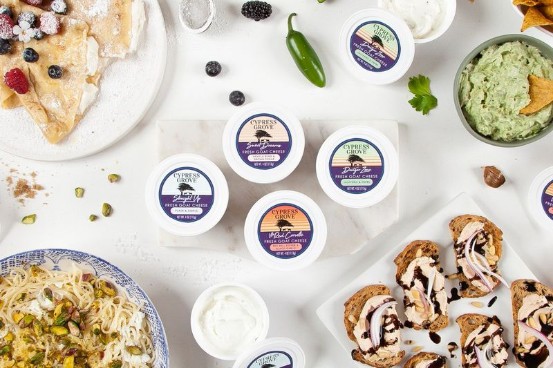 Resealable Goat Cheese Cups