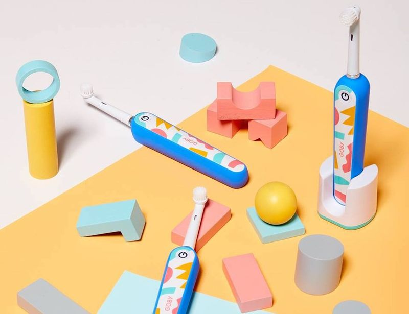 Geometric Artistry Electric Toothbrushes Goby X Will