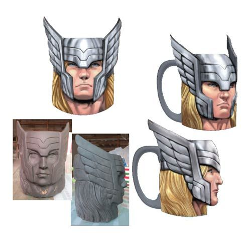 Superhero Visage Mugs