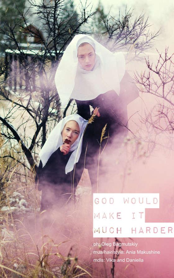 Rustic Nun Photoshoots