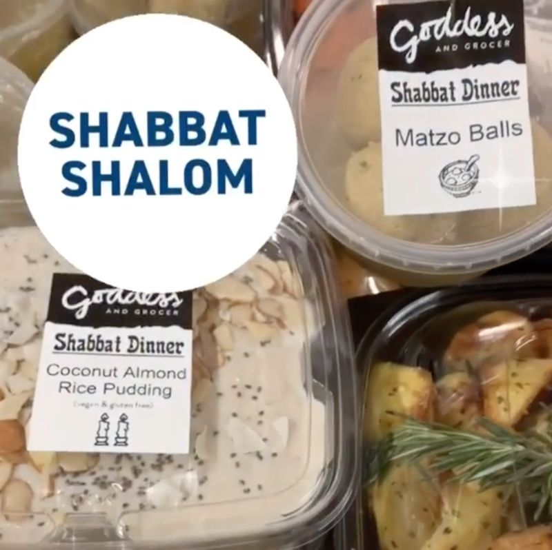 Takeout Shabbat Diners