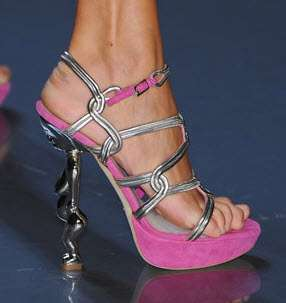 Figurines as Sandal Heels
