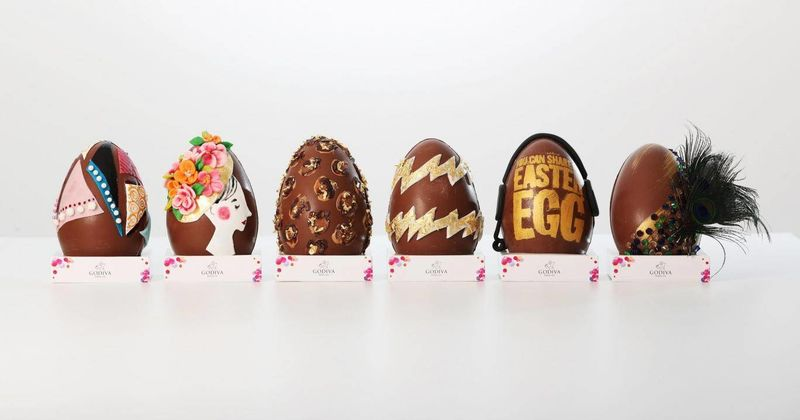 Bespoke Celebrity Easter Eggs
