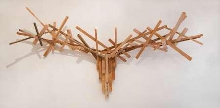 Animalistic Wooden Coat Hangers