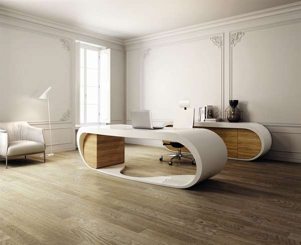Modern Curvaceous Counters