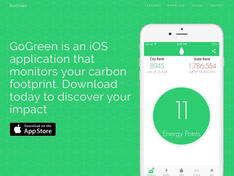 Carbon Footprint-Tracking Apps
