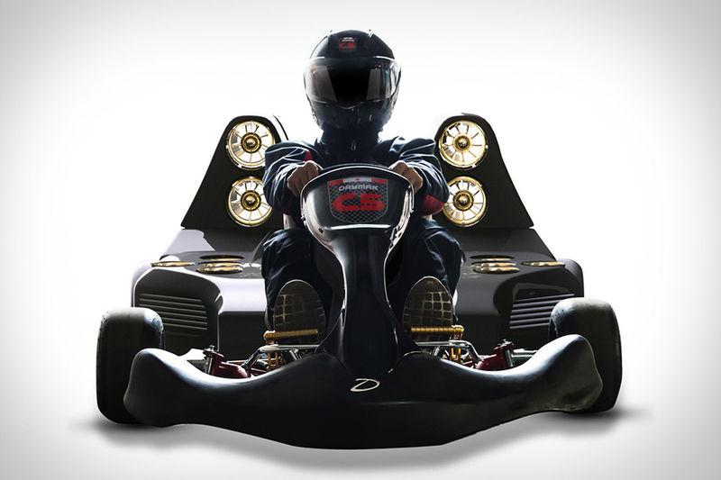 Lightweight Electric Racing Go Karts