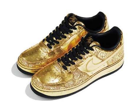 13 Gold \u0026 Silver Tennis Shoes