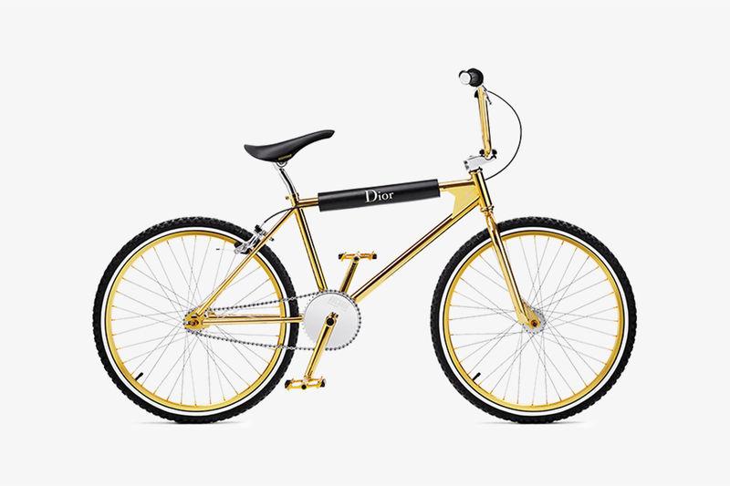 Ultra-Luxe Gold BMX Bikes