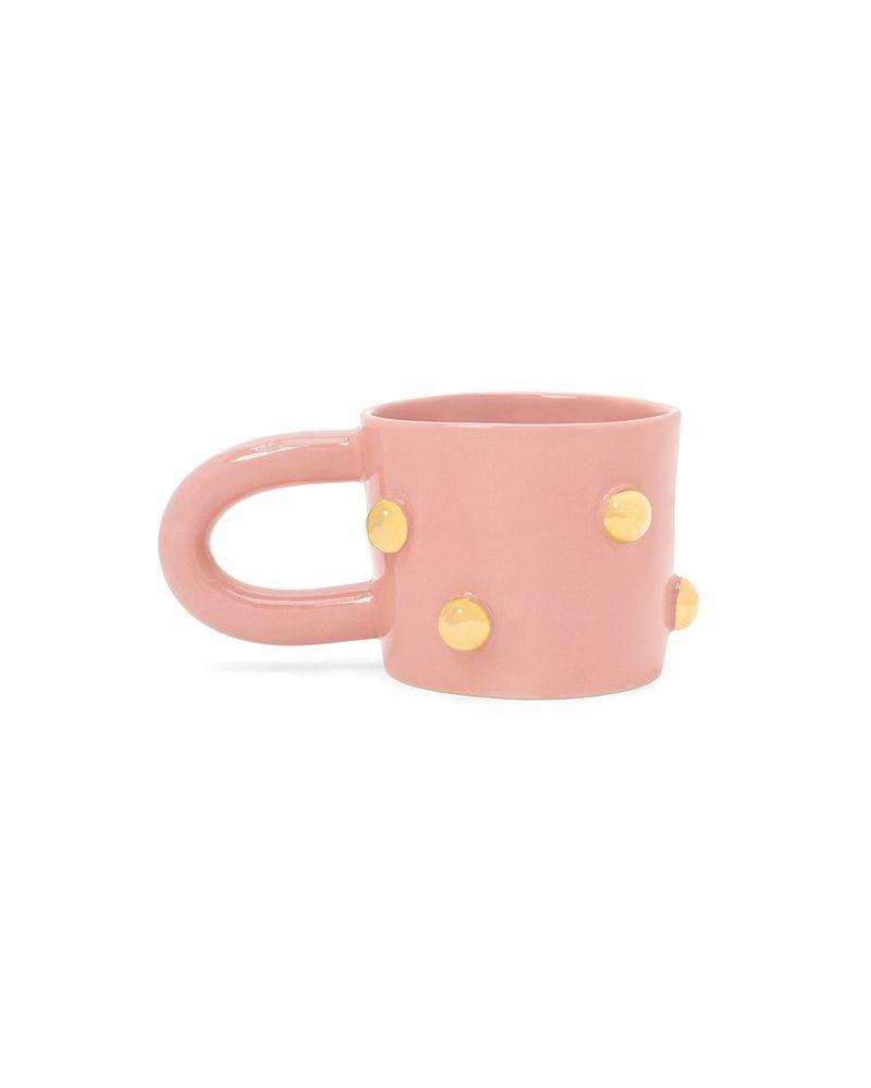 Bumpy Gold Coffee Mugs