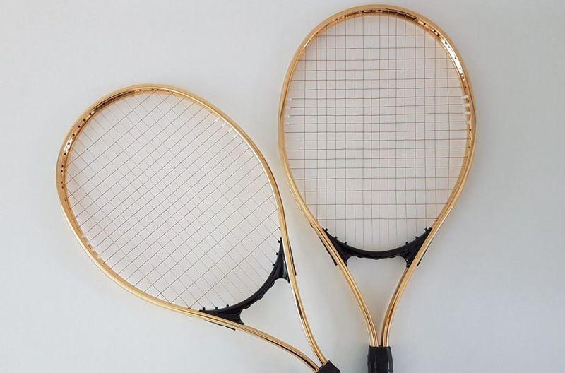 Ornamental Tennis Rackets