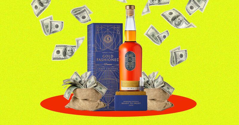 Luxury Bottled Whiskey Cocktails
