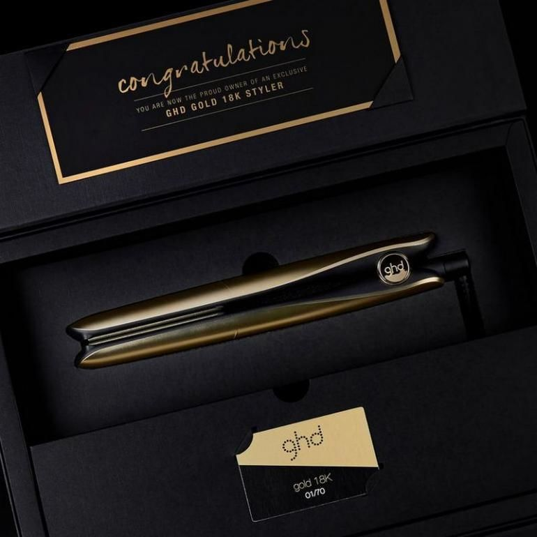 Extravagant Gold Hair Tools