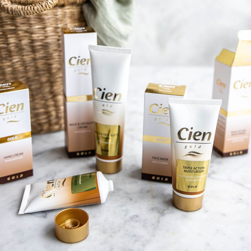 Gold-Infused Skincare Ranges