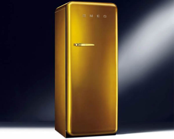 Glitzy Gold Kitchen Appliances