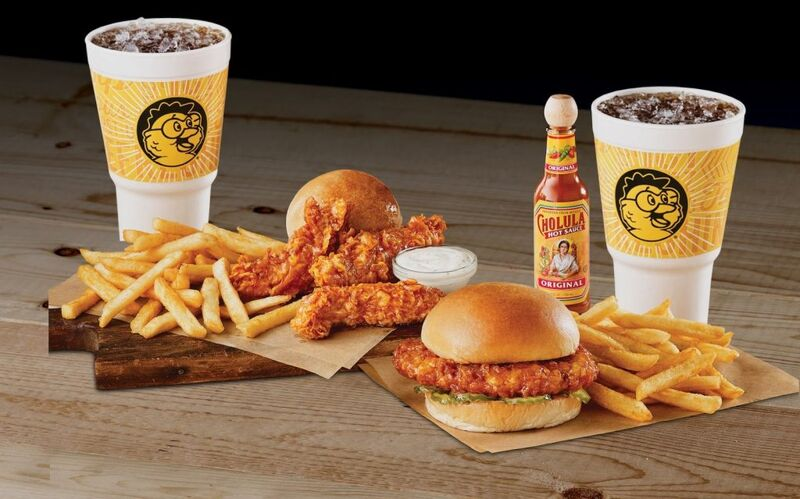 Hot Sauce-Branded Chicken Expansions