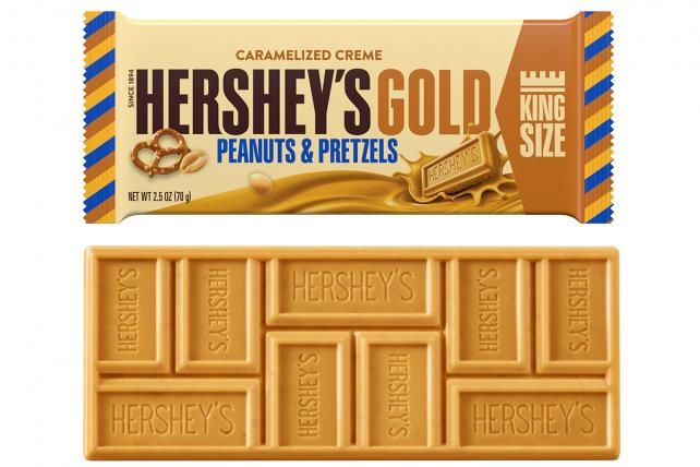 Golden Chocolate Bars