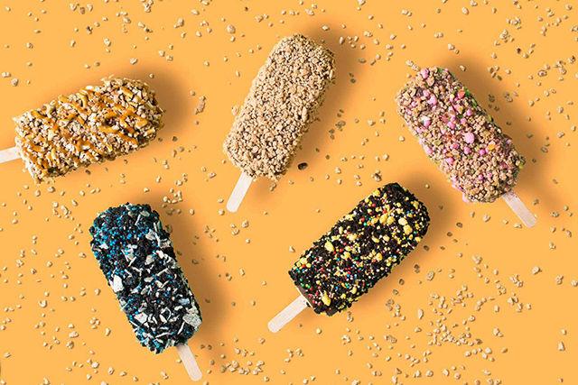 Crunchy Dessert Popups
