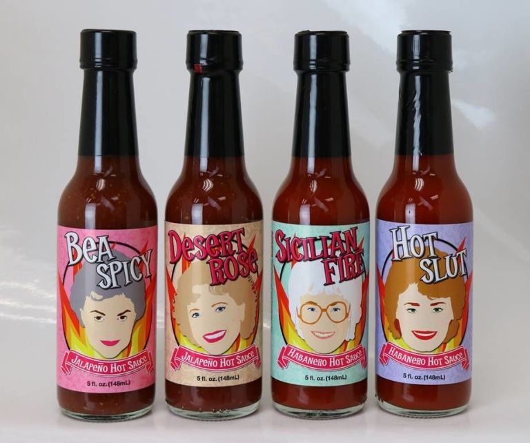 Senior Sitcom Hot Sauces