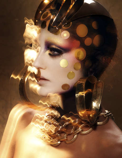 Golden Goddess Editorials