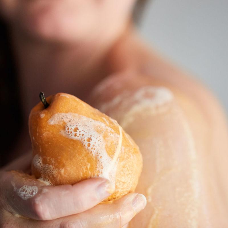Zero Waste Pear-Themed Soaps