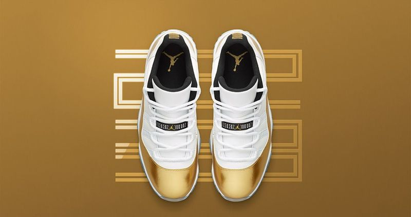 Gold-Dipped Sneaker Concepts