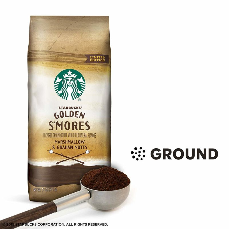 S'mores-Flavored Coffee Grounds