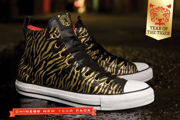 Tiger Print Kicks: Converse Extends Chinese New Year Sneaker