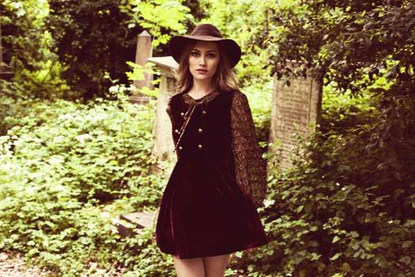 Retro Woodland Fashion
