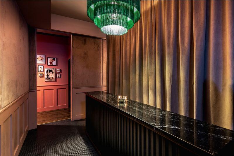 Florescent-Lit Cocktail Bars