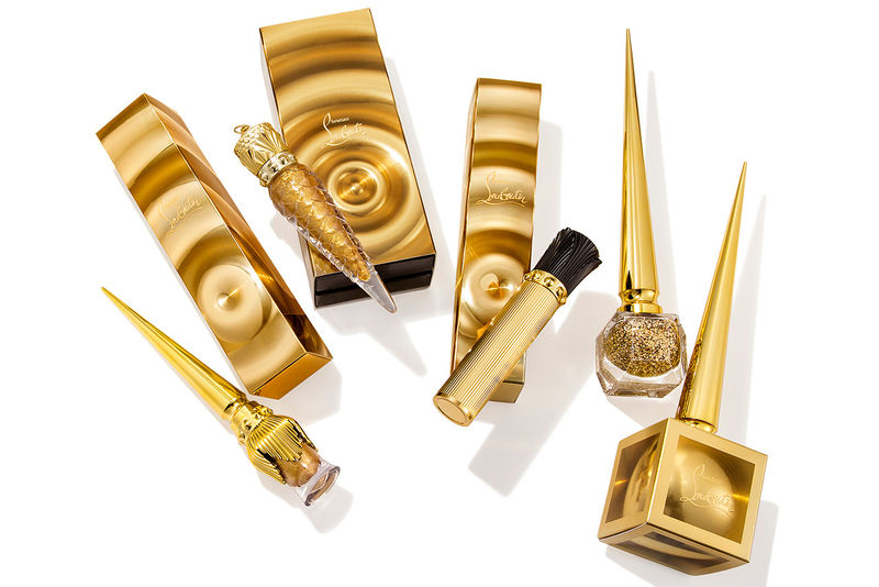 Gold-Covered Luxury Cosmetic Lines