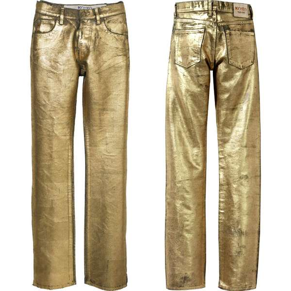 Goldplated Jeans