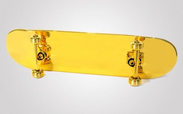 Gilded Luxury Skateboards